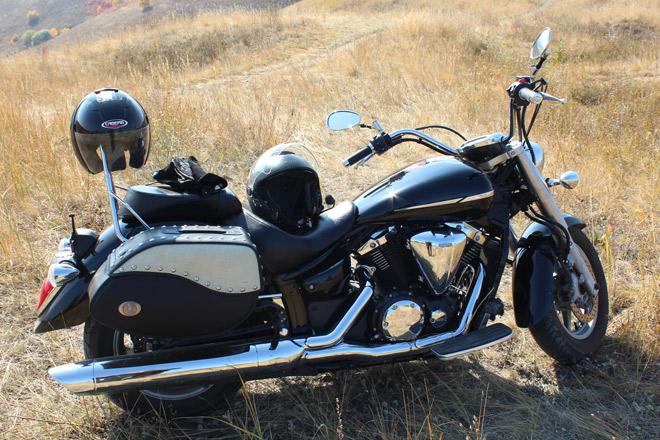 мотоцикл лето