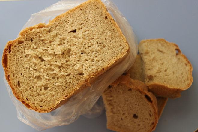 хлеб в мешке