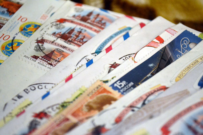 сколько хранится заказное письмо