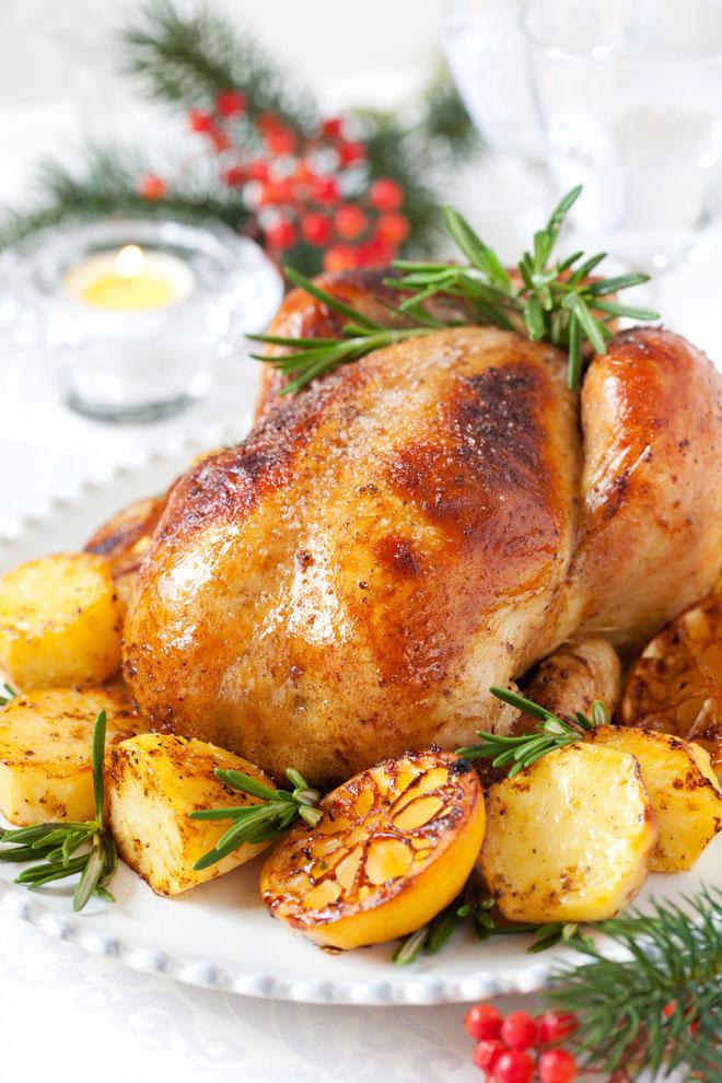 жаренная курица
