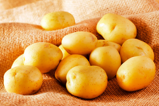 картошка белая