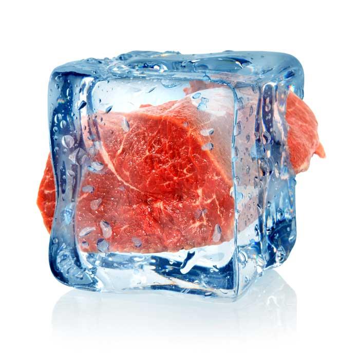 мясо во льду