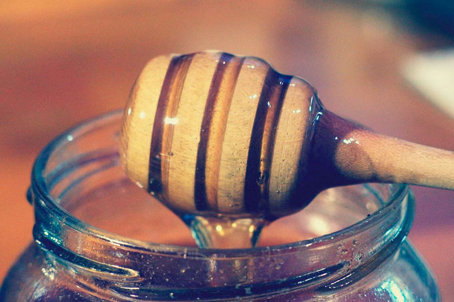 прозрачный мед