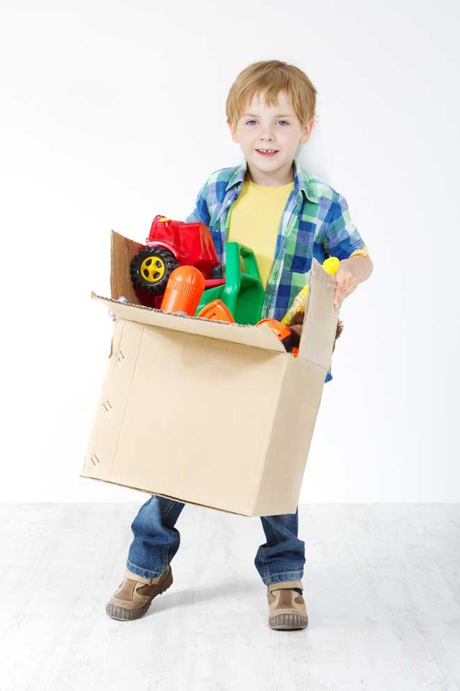 коробка для игрушек