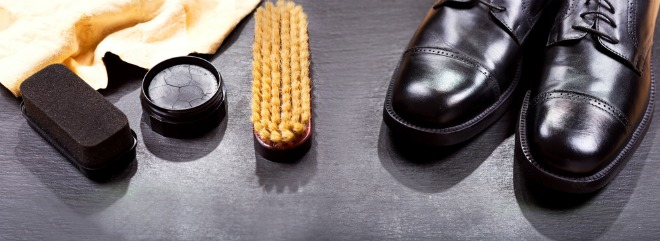 чистка ботинок