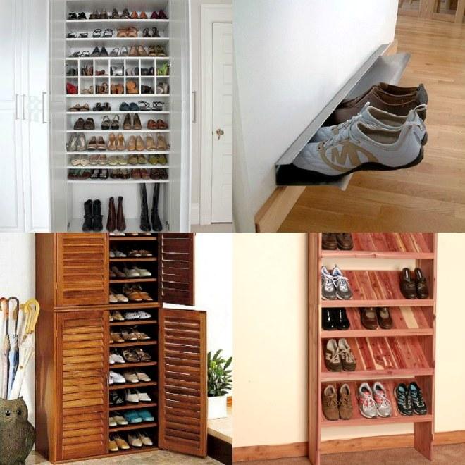 примеры стеллажей и шкафов