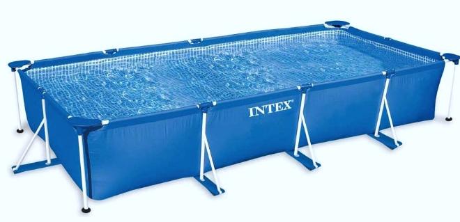 бассейн складной прямоугольный